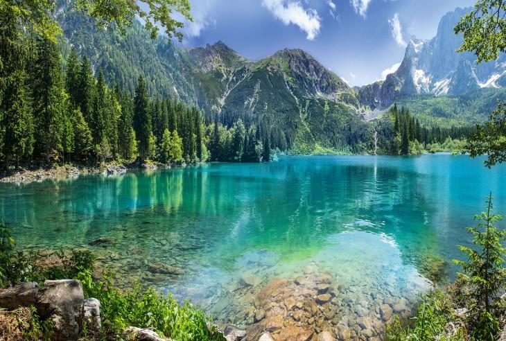 Фотообои «Горное озеро»