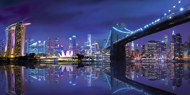 Фотообои «Городская панорама»