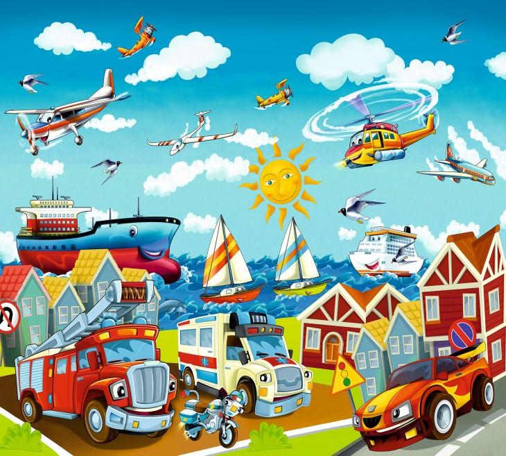 Фотообои «Детский городок»
