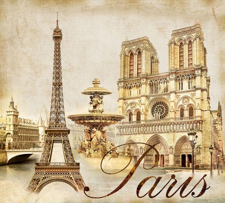 Фотообои «Париж»