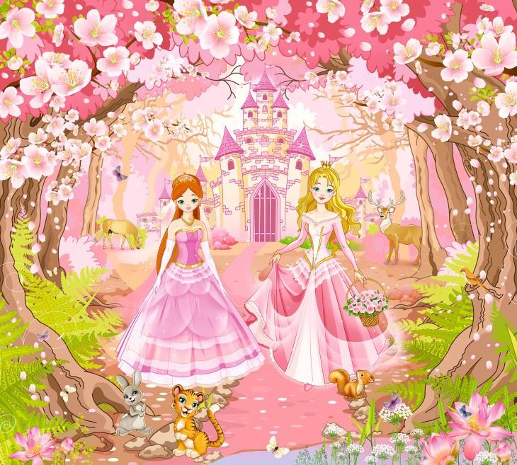 Фотообои «Принцессы»