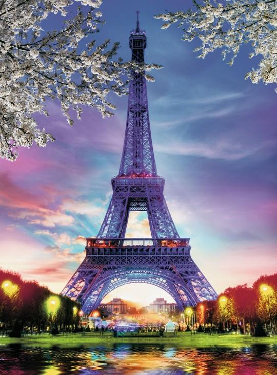 Фотообои «Эйфелева башня»