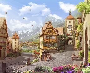Фотообои «Австрийский городок»