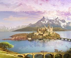 Фотообои «Островной замок»