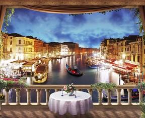 Фотообои «Ночная Венеция»