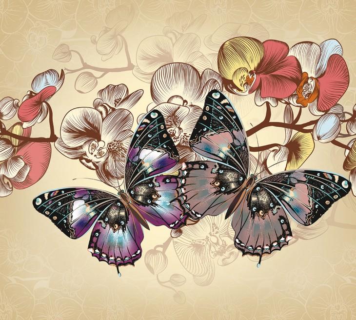 Фотообои «Бабочки»