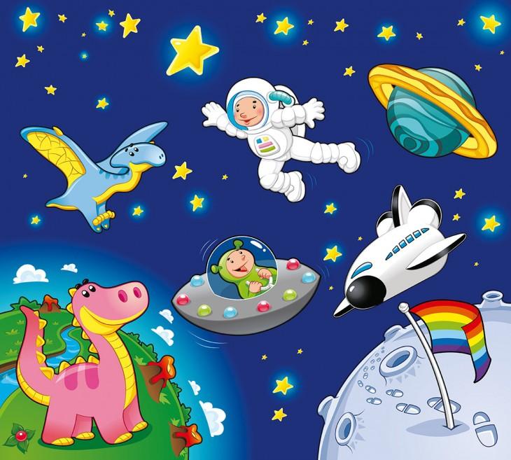 Фотообои «Космическое приключение»