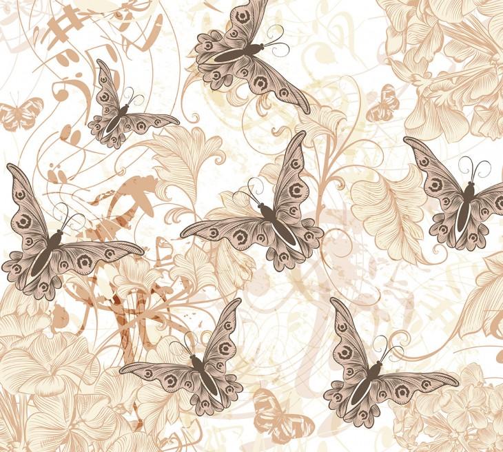 Фотообои «Танец бабочек»