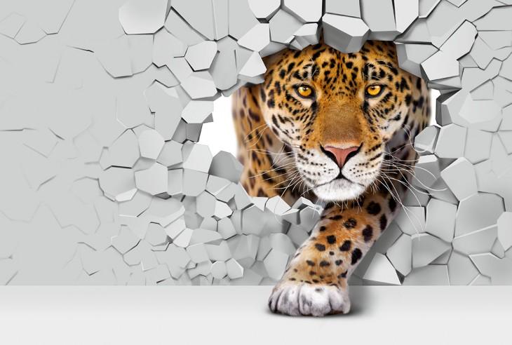 Фотообои «Ягуар 3Д»