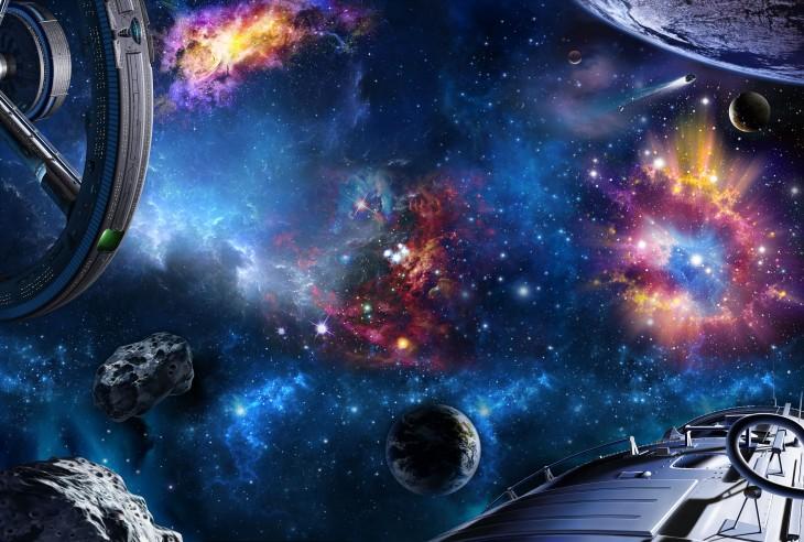 Фотообои «Бескрайний космос»