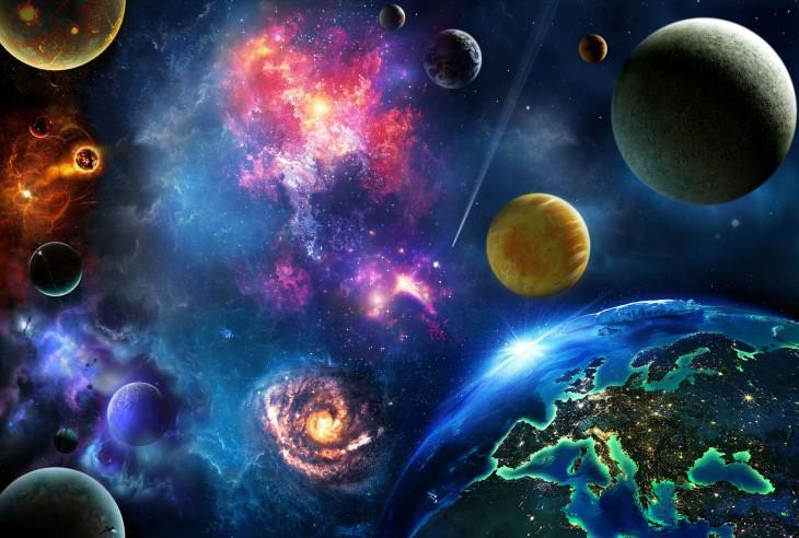 Фотообои «Звездные миры»