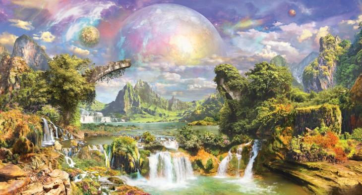 Фотообои «Инопланетный пейзаж»