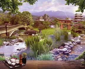 Фотообои «Японский дом»
