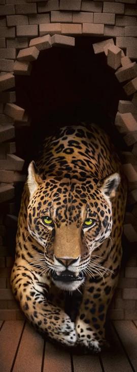 Фотообои «Леопард 3Д»